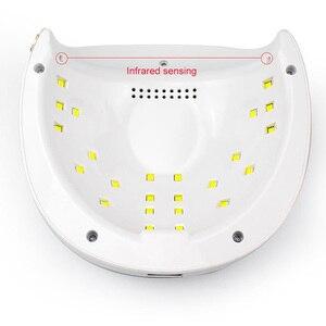 Image 3 - 4S solar más lámpara UV para uñas 52 W, fabricante de Gel metálico, secador de Gel, esmalte de uñas, lámpara LED