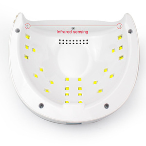 Image 3 - SUN 4S Plus UV Nail Lamp 52W Nail Art Gel Metalic Builder Gel Dryer Gel Nail Polish LED Lamp