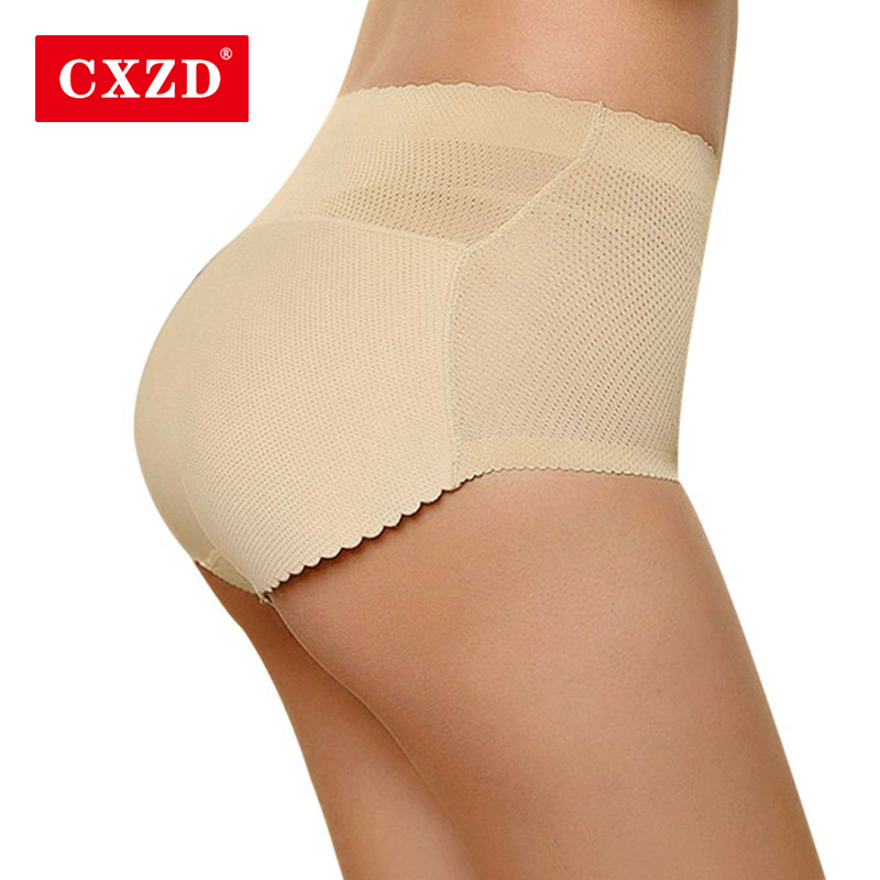 CXZD Women Shapers Sponge Padded Butt Lifter Abundant Lady Pants Push Up Hip Enhancer Padded Panties And Briefs Underwear