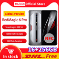 DHL Бесплатная глобальная версия Nubia красный Магия 6 Pro игровой смартфон 16 Гб Оперативная память 256 ГБ Встроенная память 6,8 ''Snapdragon 888 OctaCore рамка ...