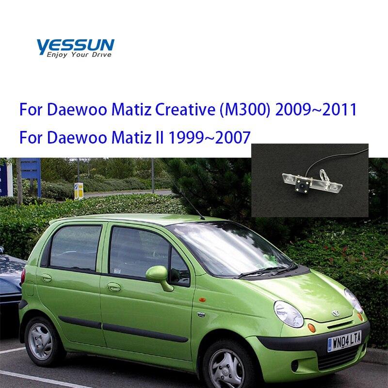 Car Rear View Camera CCD Backup Parking System For Matiz Daewoo For Daewoo Matiz Creative (M300) 2009~2011