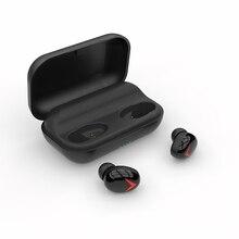 TWS 5.0 Bluetooth A8 Stereo Earphone Wireless Earphones touch control Waterproof LED Smart Power Bank