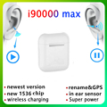 I90000 Max наушники-вкладыши Tws с 1:1 GPS переименовать 2nd наушники-вкладыши Tws с Беспроводной гарнитуры Bluetooth наушники-вкладыши Tws с I90000 Pro Android PK I9000 н...