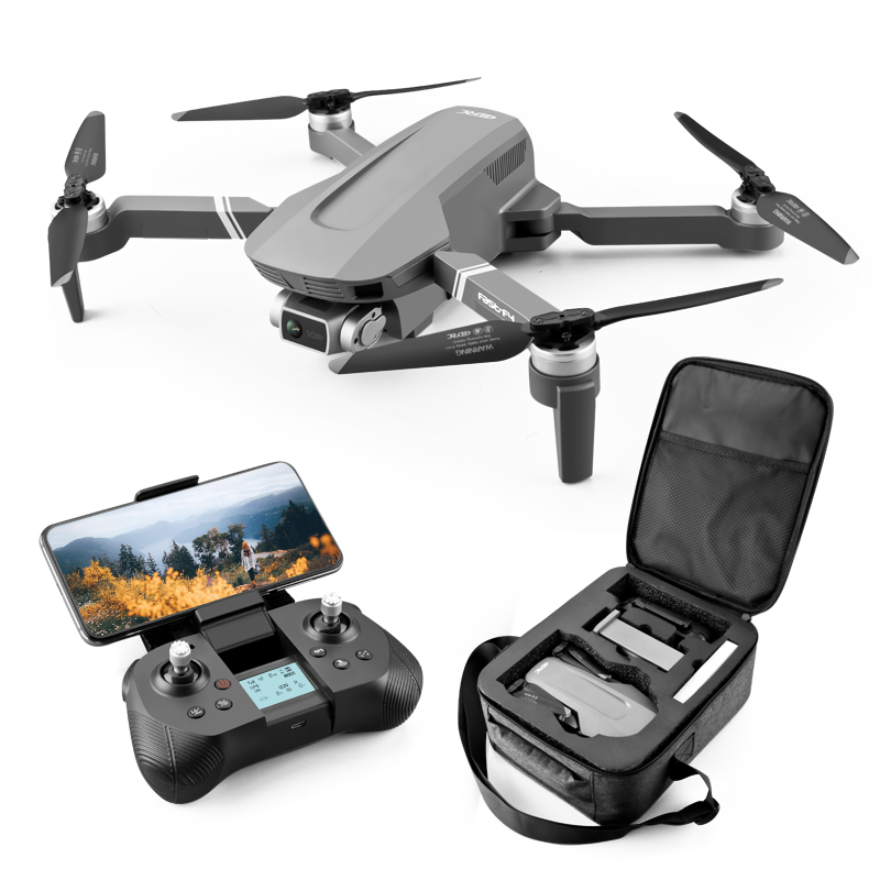 F4 RC Drone GPS with 4K HD Camera Remote Control Quadcopter GPS Drone Foldable Dron 25Mins Profesional Brushless Motor FPV Gifts