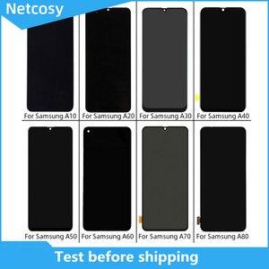 Image 1 - Pantalla LCD para Samsung A10, A20, A30, A40, A50, A60, A70, A80, digitalizador táctil, piezas rotas de repuesto originales de alta calidad