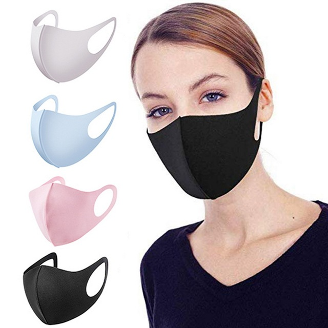 Cotton PM2.5 mouth Mask anti dust mask Activated Washable Reusable Windproof Mouth-muffle Bacteria Proof Flu Face Masks Care