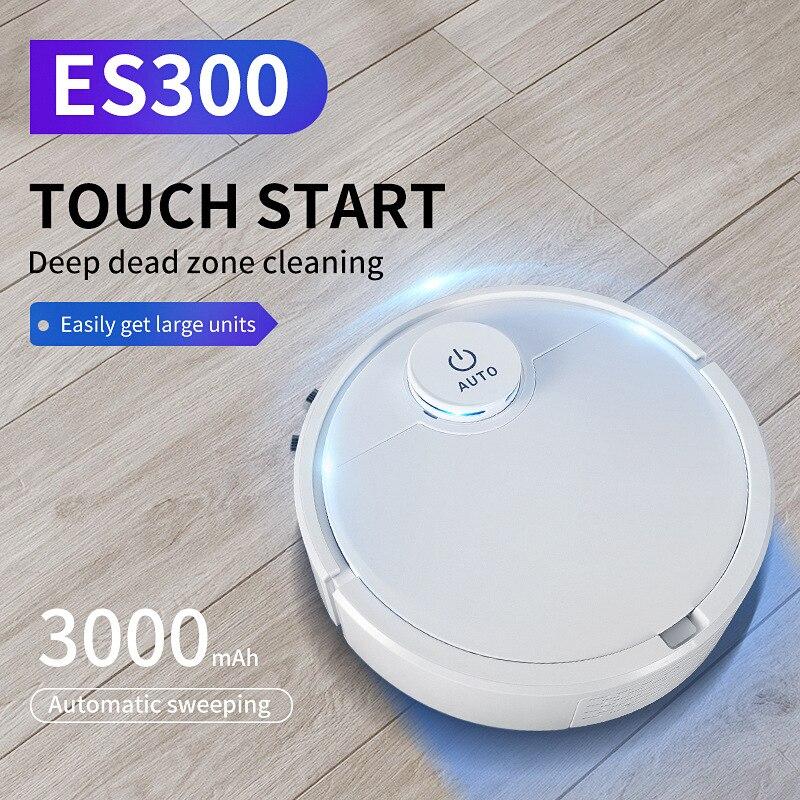 Robot Vaccum Cleaner Robo Aspirador Smart Robot Cordless Automatic USB Charging Dust Cleaner  Robot Mop Mop Floor Sweeping Robot