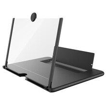 Cienki składany na telefon komórkowy wzmacniacz ekranu HD składany statyw uchwyt do domu DU55