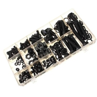 HHO Hex Head Nut and Bolt Kit Home Fasteners Portable Washer Lock Assortment Set M4 M5 M6 M8 M10 Hex Head Nut Set