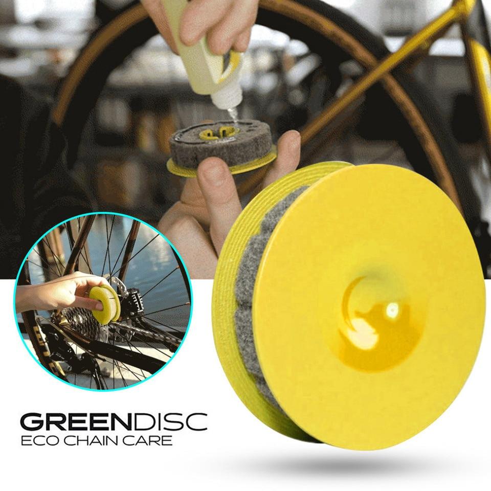 Bicycle Chain Roller Oiler Wool Lubricant Lube Oil Lubricator Bike Tools #JD