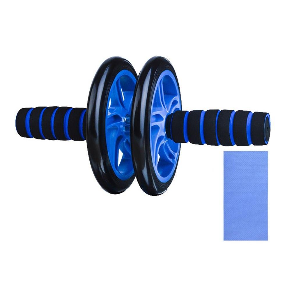 Double Wheeled Abdominal Wheel Abdominal Fitness Equipment Giant Wheel Abdominal Roller Roller Reduction Abdominal
