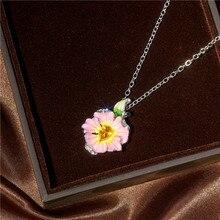 Collar Popular para mujer, moda de moda femenina, anillo femenino, presentador de aniversário de dia, dos nombres, joyas atadas