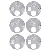 6Pcs Bee Hive Nuc Box Entrance Gates, Entrance Disc (Diameter:12.5Cm) - Beekeeping Equipment Beehive Tool Beekeeper Tool(China)