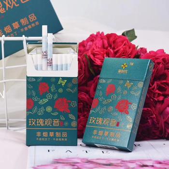 Herbata ziołowa dym (różany smak wykonany z róży) aby rzucić palenie artefaktu dymu jak prawdziwy dym tanie i dobre opinie CN (pochodzenie)
