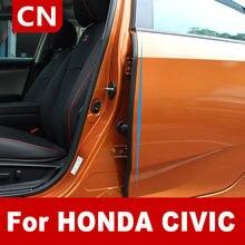 Car Door Gap Sealing Strip Soundproof Strip Car Protective Sealing Strip Silencer Strip For Honda Civic 10th 2016 2017 2018 2019