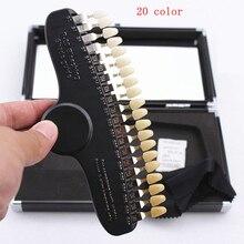 1 компл. Отбеливание зубов 3D тени руководство цвет компаратор зеркало стоматологическая пластина стоматология отбеливание компаратор отбеливание зубов