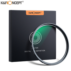 K&F CONCEPT UV Filter Lens MC Ultra Slim Optics with Multi Coated Protection 52mm 55mm 58mm 62mm 67mm 72mm 77mm 82mm