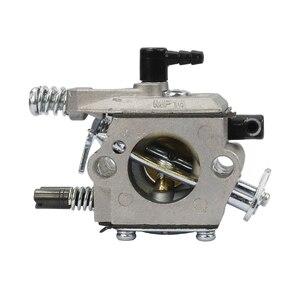 Image 5 - เบนซินChainsawคาร์บูเรเตอร์Carbเครื่องตัดแปรงคาร์บูเรเตอร์Fit KOMATSU 4500 5200 5800 45cc 52cc 58ccอะไหล่เลื่อยลูกโซ่