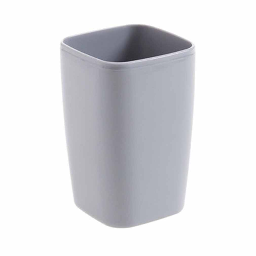 Brief Fashion Fiber Straw Wheat Plastic Coffee Cup Tea Cup Ecological Square Drinking Cup Gargle Wash Cup Bathroom Supplies