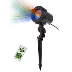 Christmas RGB Remote Static Stars Dots Laser Projector Lights Garden Outdoor Waterproof IP65 Tree Xmas Holiday Showers Lighting