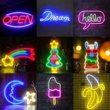 Светодиодный неоновый светильник знаки настенный Декоративный