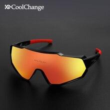 CoolChange Polarized Sports Sunglasses 100% UV400 Cycling Gl