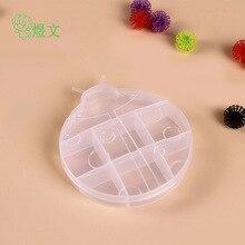 Animal appearance ladybug environmental protection storage box Rainbow circle card finishing