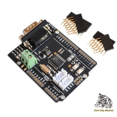 5PCS/LOT CAN Bus Shield Extension Board CAN Protocol Communication Connect the car bus