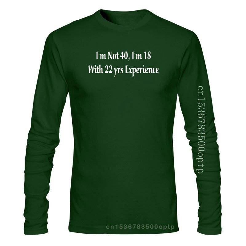 New 2020 Funny Men Hot I'm not 40, 40th Birthday / Xmas / Wedding / Party T-Shirt All sizes & colours Custom Made T Shirts