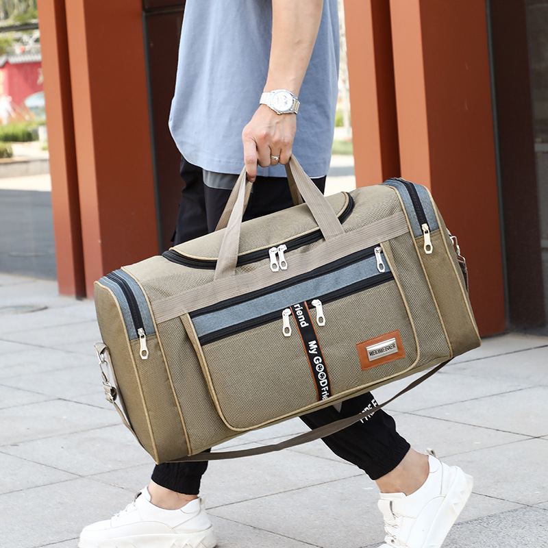Large Capacity Fashion Travel Bag For Man Women Weekend Bag Big Capacity Bag Nylon Portable Travel Carry Luggage Bags XA156K
