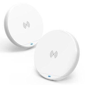 Image 4 - 10w qi wireless caricabatterie rapido con usb tipo c wireless pad di ricarica con smartphone supporto del supporto 3 in 1 stazione del caricatore senza fili
