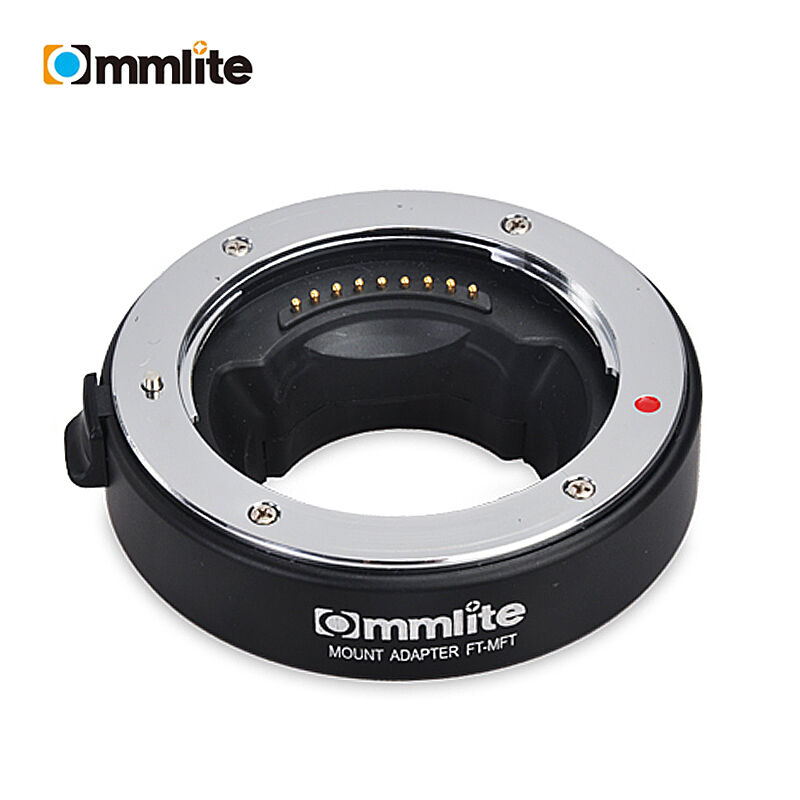 Commlite Adapter Auto Focus AF for Olympus OM 4/3 Lens to Micro 4/3 M4/3 Camera GH4 GH5 GF6 GX7 EM5 EM1 OM-D image