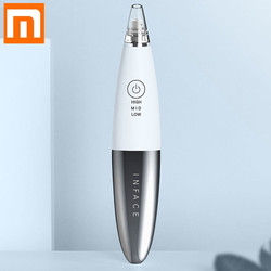 New Xiaomi InFace Blackhead Vacuum Suction Dermabrasion Removal Scar Acne Pore Peeling Face Clean Facial Skin Care Beauty Tools