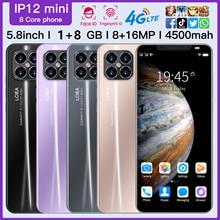 2020 3G Smartphone Rugum IP12 Mini 5,8 Volle Bildschirm Entriegelt smartphone Android 4,4 1GB + 8GB rom Dual Sim Handy