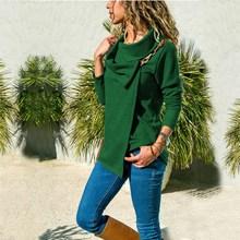5Xl Autumn Women Plus Size Hoodies Fashion Solid Sweatshirts Jumper Female Long Sleeve Outwear