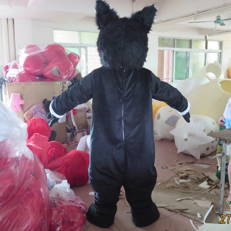 wolf mascot and werewolf costume custom fancy costume anime cosplay kit mascotte theme fancy dress in Mascot from Novelty Special Use