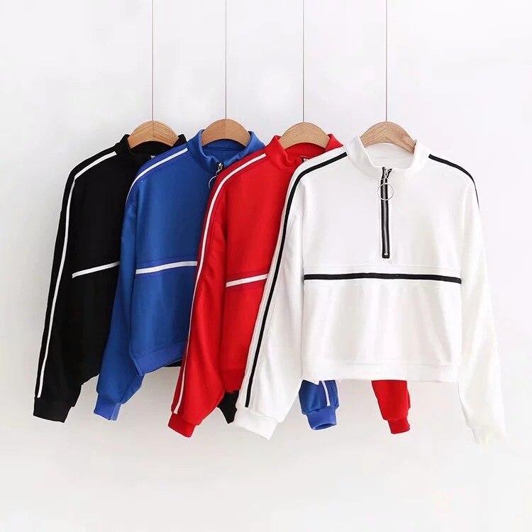 Nice Women Sweatshirt Hoodie Fashion Summer Autumn Hip Hop Street Sweatshirt Sporting Pullover Sweatshirt Hoodies