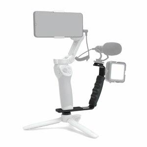 Image 2 - Camera L shaped Stands Angle 2 Shoe Flash Bracket DV Light Tray Dual Cold Shoe Support Holder for DSLR SLR Camcorder Photography