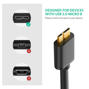 Image 2 - Super Speed USB 3.0 zu Micro B Kabel Daten Transfer Kabel USB3.0 (5 Gbps) schnelle Ladegerät Kabel Für Festplatte Galaxy Note 3 Galaxy S5