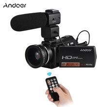 Andoer 1080P Full HD 24MP Portable Digital Video Camera Camcorder 0.45X Wide Ang