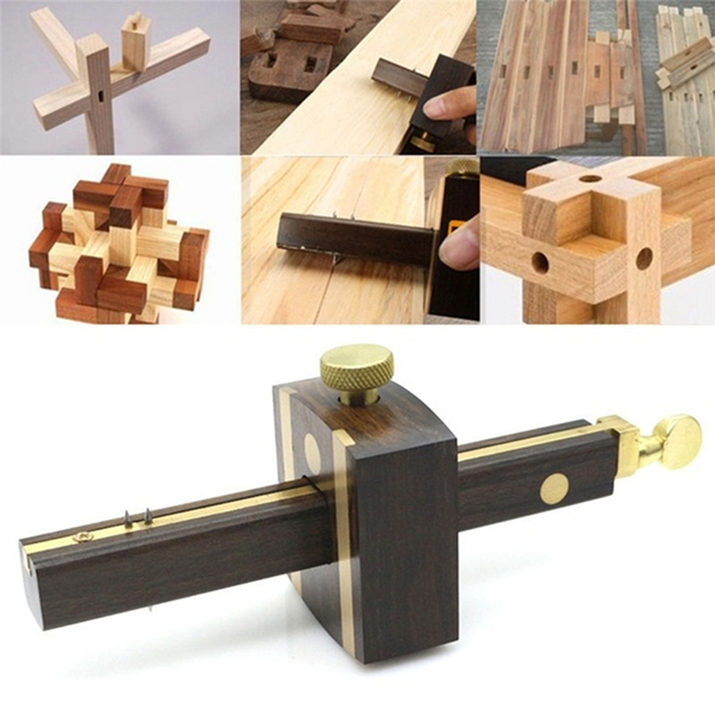 Marking Mortise Gauge Carpentry Scribe Wood Work Scraper Tool Mark Woodworking Line Tool Multifunction Woodworking Cable