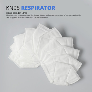 10 pcs KN95 Dustproof Anti-fog And Breathable Face Masks Filtration Mouth Masks 3-Layer Mouth Muffle Cover (not for medical use) 2