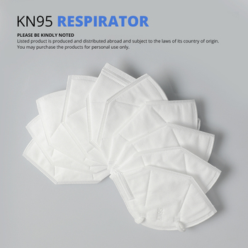 10 pcs KN95 Dustproof Anti-fog And Breathable Face Masks Filtration Mouth Masks 3-Layer Mouth Muffle Cover (not for medical use) Computers, Tablets & Networking