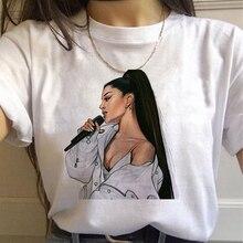 ariana grande women t shirt clothes girls ulzzang Casual tsh
