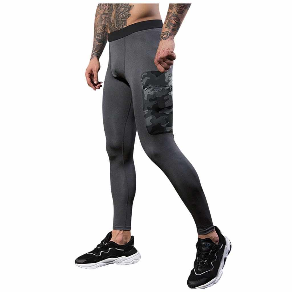ヒップホップストリート pantalones hombre 男性トレーニングボディービルワークアウトフィットネス長ズボンタイトな乾性スポーツパンツスウェットパンツ