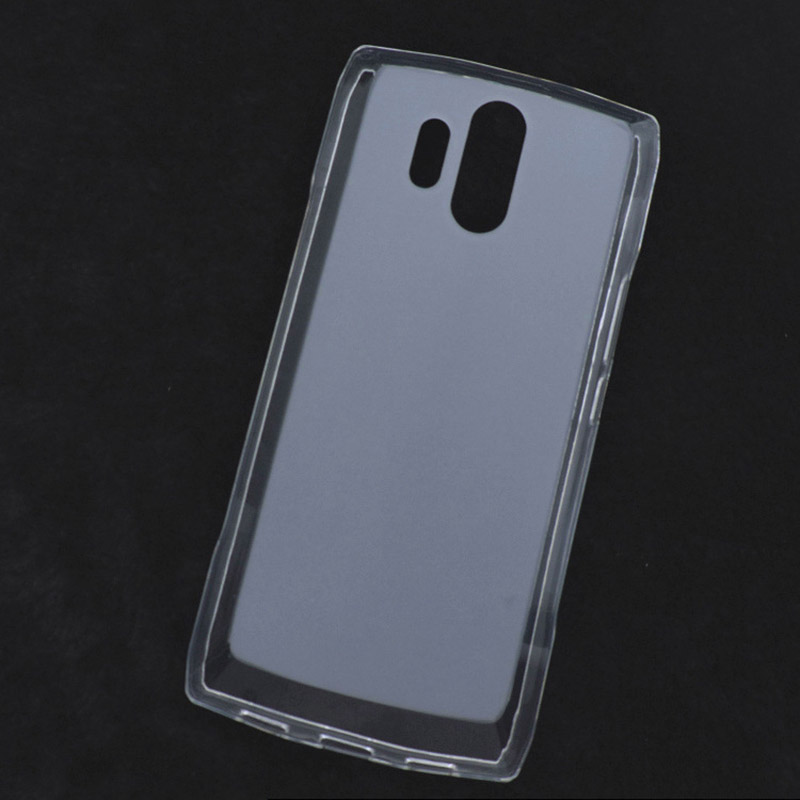 For <font><b>HOMTOM</b></font> HT70 Ultra Thin Transparent Silicone TPU Gel Matte Soft Phone Case for <font><b>Homtom</b></font> HT70 HT <font><b>70</b></font> Case Shockproof Cover image