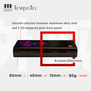 Image 2 - MP3 נגן TempoTec V1 A וריאציות HIFI PCM & DSD 256 תמיכה Bluetooth LDAC AAC APTX ובהחוצה USB DAC עבור PC עם ASIO AK4377ECB