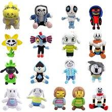 11 Styles Undertale peluche poupée 20-35cm Undertale Sans Papyrus Frisk Chara Temmie peluche jouets en peluche pour enfants enfants cadeaux
