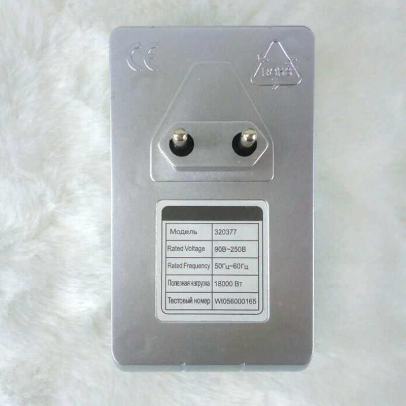 Intelligent Energy Saver Scatola di Risparmio Energetico Intelligente Dispositivo di Energia Elettrica di risparmio Energetico 10 a 50% STATI UNITI REGNO UNITO Spina di UE 30KW 90 v-250 V