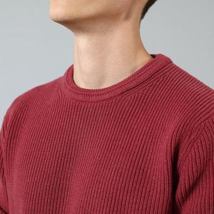 Image 3 - Мужской теплый свитер SIMWOOD, повседневный трикотажный пуловер с вырезом, брендовая одежда высокого качества, SI980567, Осень зима 2020